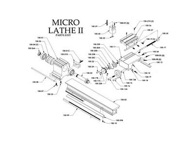 Micro Lathe II Parts & Accessories